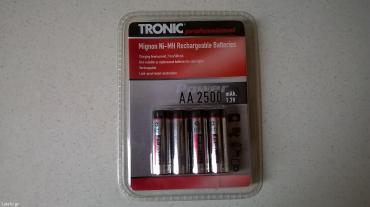 Επαναφορτιζόμενες μπαταρίες tronic ( καινούργιο ) σε Athens