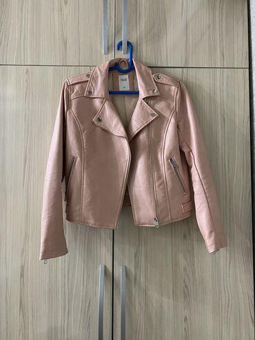 Куртки - Кыргызстан: Кожаная куртка  Размер M