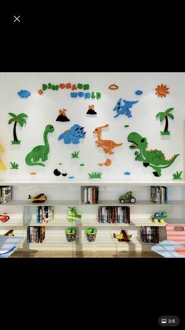 Акриловый глянцевый 3D декор на стену размер 180см на 100см, высшее