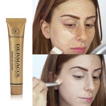 Dermacol make-up cover дермаколтональный крем с высоким маскирующим  в Бишкек