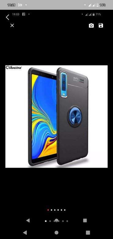 Salamlar Təzə paketin içində Samsung Galaxy A7 2018 360 dərece kabro