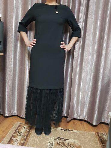 шикарное вечерние платье в Кыргызстан: Продаю шикарное вечернее новое платье с этикеткой, Турция 38 размер