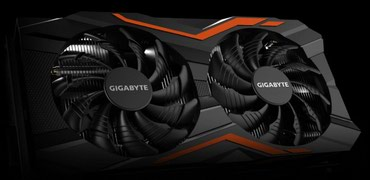 Видеокарта GIGABYTE GeForce GTX 1050 Ti на 4 GB в Бишкек