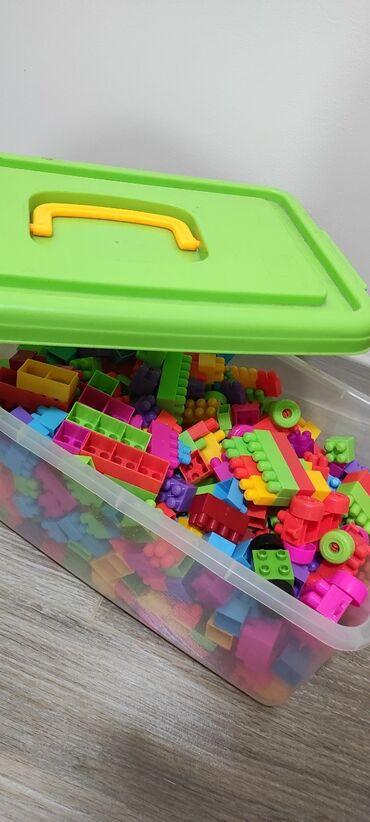Большие Лего кубики б/у таких уже нет в продаже