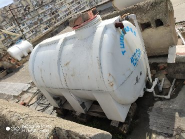 Бак для нагрева воды - Азербайджан: Su ceni Bak 1500 litr. Бак для воды