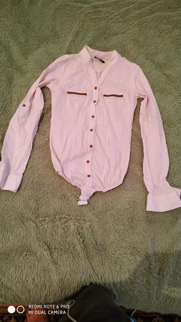 Рубашки и блузы - Кок-Ой: Рубашка боди в хорошем состоянии 36р 150с