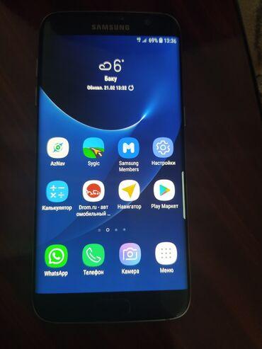 s 6 edge - Azərbaycan: İşlənmiş Samsung Galaxy S7 Edge 32 GB qara