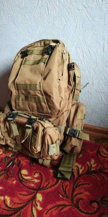 Продаю походный, тактический рюкзак. Очень прочный. Карманы все