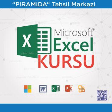 excel proqrami - Azərbaycan: Kompüter kursları | Microsoft Office | Əyani, Onlayn