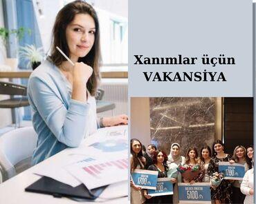 iş elanlari yeni in Azərbaycan | DIGƏR IXTISASLAR: Tələb olunur: sosial şəbəkələrdən istifadə edə bilən xanımlar. Daimi i