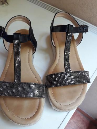 Udobne i lepe sandale, broj 38. Nosene samo jednom - Beograd - slika 2