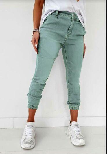 Pantalone velicina m - Srbija: ️️️ hit model pantalona u puno boja -velicine XS, S, M, L, XL ️️️