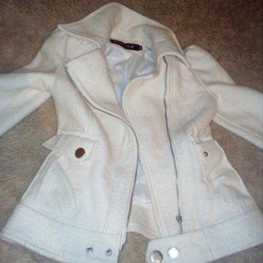 Легкое пальто надо поменять замочек, для худеньких девушек в Бишкек
