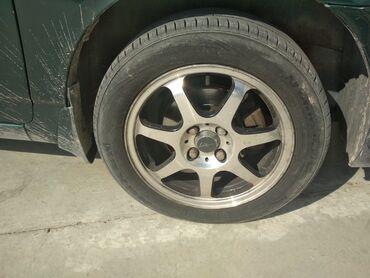 шины москвич в Ак-Джол: Меняю R15 диски на R16 все 4 диска в хорошем состоянии не кривые не