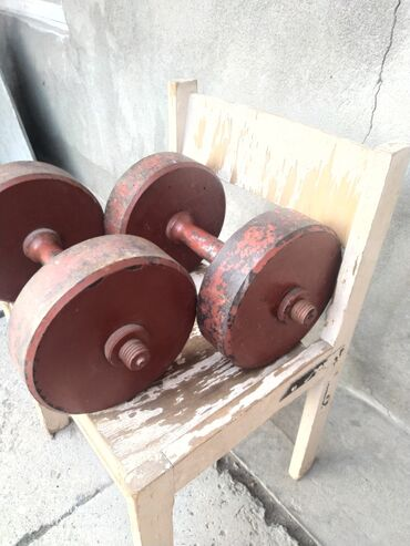 Z оператор - Кыргызстан: Гантели по 20 кг Цена за 2 шт