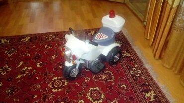 Продам детский мотоцикл только нет батарейки но можно использовать