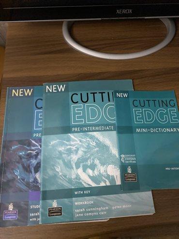 s 6 edge - Azərbaycan: Cutting edge pre-intermediate kitab workbook dictionary 8 manat