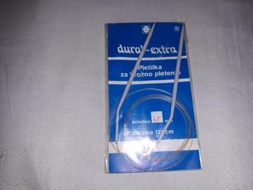 Dural extra pletila za kružno pletenje,nova, ne korišćena.Duzina - Belgrade