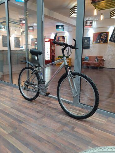 Скидка на горный велосипед Корейский брендАлюминиевая рамаПередний