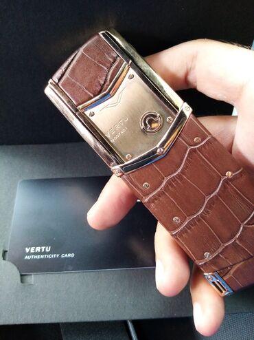 Vertu Signature Brown Premium klass Qiymət - 399 AZN Zəmanət 1 il