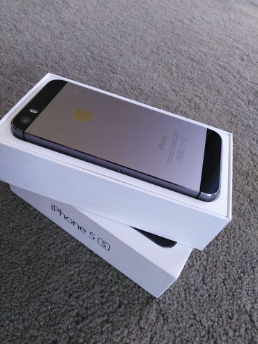 Apple Iphone - Jagodina: Polovni iPhone 5s 16 GB Tamno-siva (Space Grey)