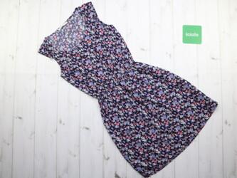 Цветочное женское платье от бренда House,р.XS Длина: 86 см Пог: 36 см