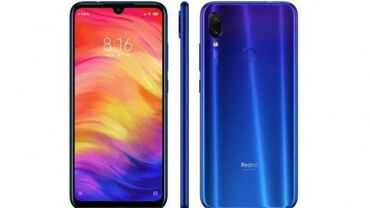 Электроника в Самух: Б/у Xiaomi Redmi Note 7 32 ГБ Синий