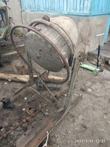 Продаю ручную бетономешалку в хорошем состоянии цена окончательная