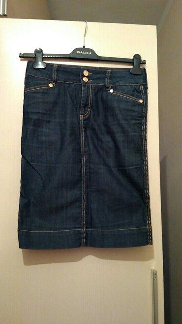 Юбка джинсовая, размер 42-44, отличное состояние в Бишкек