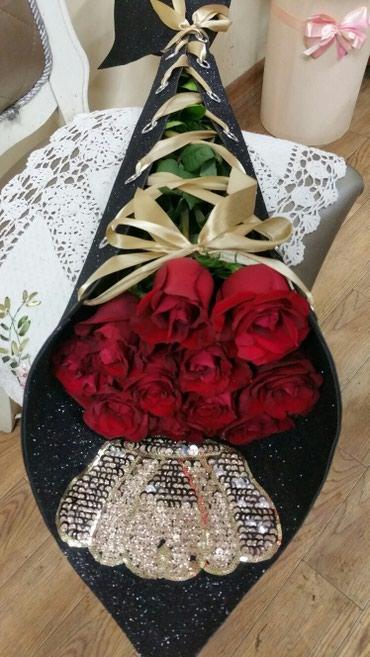Розы на 8МАРТА!!! Акция!!! В тренде - в Бишкек