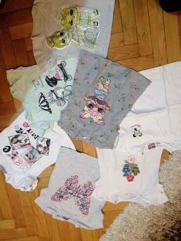 Paket sadrzi - Srbija: Paket odece za devojčice velicina od 92-98cm. Paket sadrzi