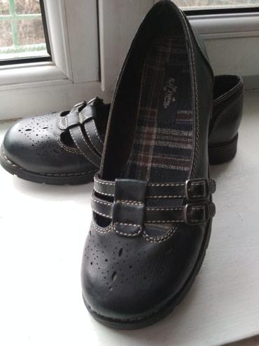 Туфли женские, размер 8, на наш 38-39, кожа в Бишкек