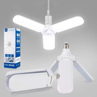 Kućne potrepštine - Arandjelovac: 1150dinRasklapajuća LED lampa - 45W Možete podesiti ugao osvetljenja -