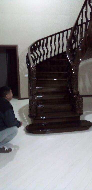 фанера бишкек in Кыргызстан | ГРУЗОВЫЕ ПЕРЕВОЗКИ: Лестницы | Монтаж, Изготовление, Демонтаж | Металл, Сосна, Дуб