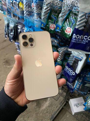 айфон 12 цена ош in Кыргызстан | ЗАРЯДНЫЕ УСТРОЙСТВА: IPhone 12 Pro | 256 ГБ | Золотой Новый | Гарантия, Беспроводная зарядка, Face ID