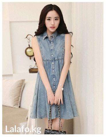 814b1a7b684 джинсовые платья и сарафаны в Кыргызстане  Женская одежда на Lalafo