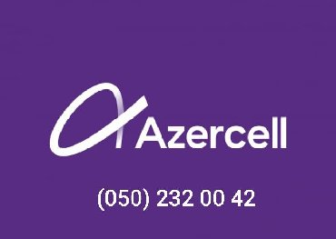 Azercell n0mre (050) 232 00 42