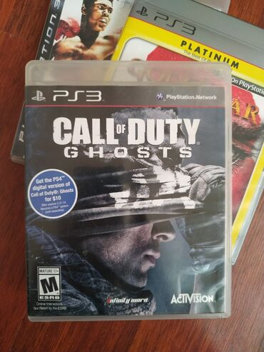 "Sony Playstation 3 Modelleri Üçün ""CALL OF DUTY GHOSTS"" Original Oyun"