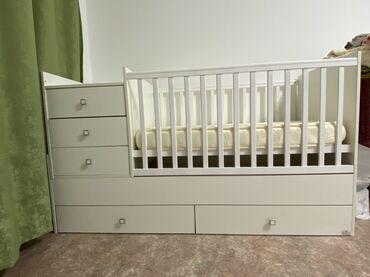 Продаю детскую кровать!!!новая!!!матрас ортопед Лина!!!!