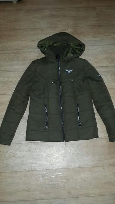 женская куртка осень весна в Кыргызстан: Куртка женская халафайдер легкая, но теплая, сезон:весна-осень, в