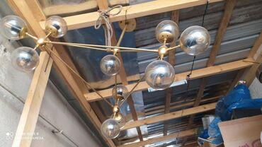 Декор для дома - Кыргызстан: Срочно !!!!! Продается дизайнерская люстра 10 патронов имеются лампо