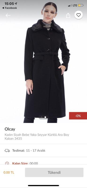 Bakı şəhərində Palto satilir, tezedir, ölcü 40. Yun ve kashemirdir mali.