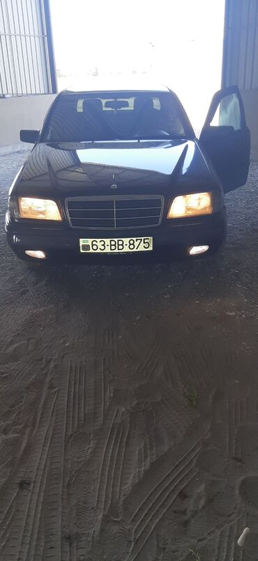 Mercedes-Benz - Zərdab: Mercedes-Benz C 180 1.8 l. 1994   280000 km