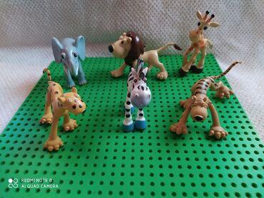 Bmw 6 серия 630cs mt - Crvenka: Set divljih životinja,6 komada,puna meka plastika