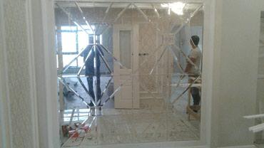 Мастер стекольшик установка резка замена и другие в Бишкек - фото 2