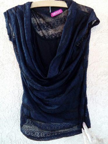 Style-majica-leptir-rukavi-crna-marka - Srbija: Crna majica