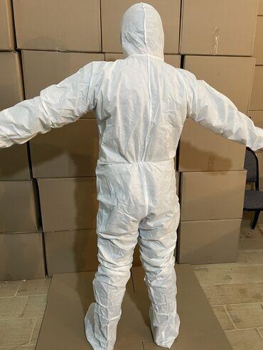 Медицинская одежда - Кыргызстан: Средства индивидуальной защиты из спанбонда, а так же из плащёвки в