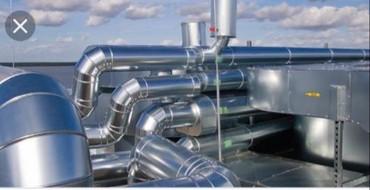 антикражные системы в Кыргызстан: Вентиляция. установка вытяжной и вентиляционный систем