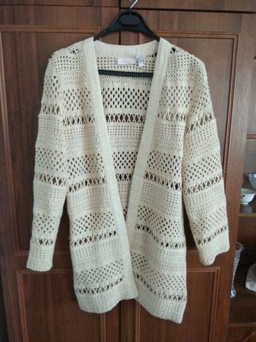 Продаю вязаную стильную накидку из хб в Бишкек