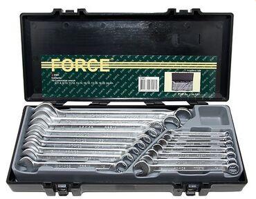 force инструменты в Кыргызстан: Набор инструментов Force 5161 Общее кол-во единиц 16 шт Комбинированны